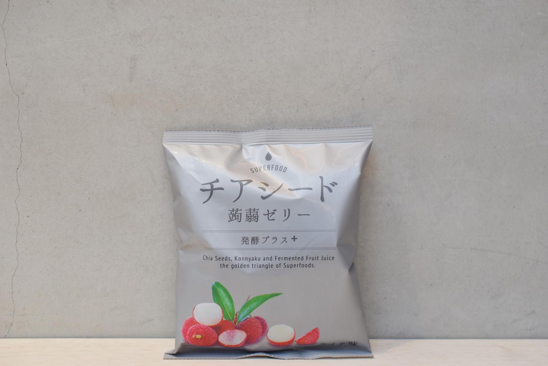 チアシード蒟蒻ゼリー発酵プラスライチ味