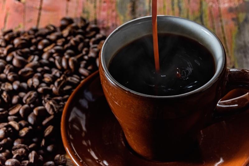 マカをとかしたコーヒー
