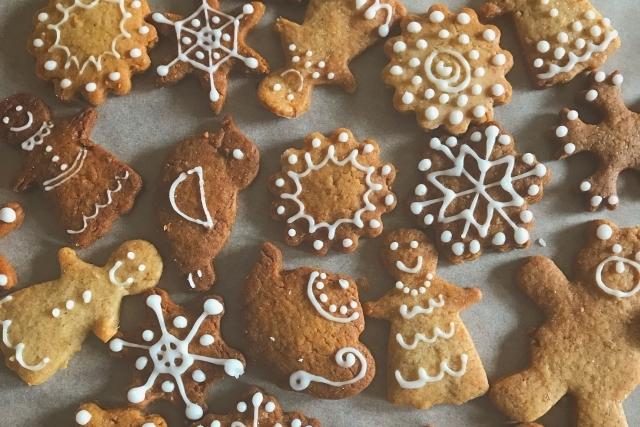 冬に食べたいジンジャークッキー