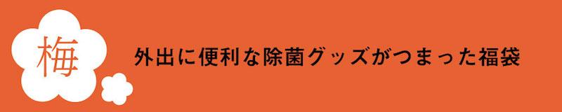 2021年福袋梅コース